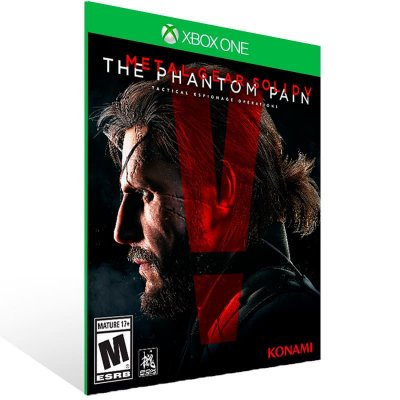 Metal Gear Solid 5 The Phantom Pain - Xbox One Live Mídia Digital
