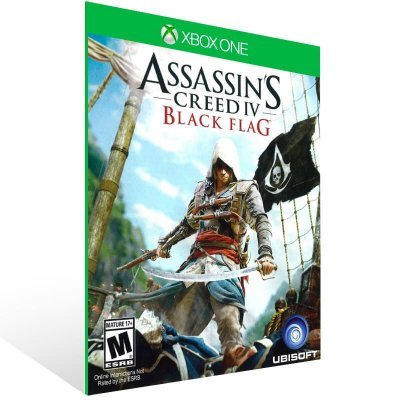 Assassins Creed 4 Black Flag - Xbox One Live Midia Digital