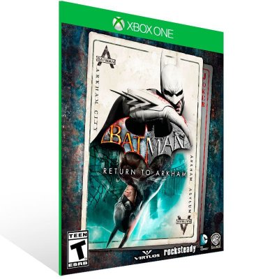 Batman: Return To Arkham - Xbox One Live Midia Digital