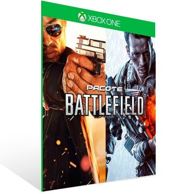 Battlefield 4 + Battlefield Hardline - Xbox One Live Midia Digital