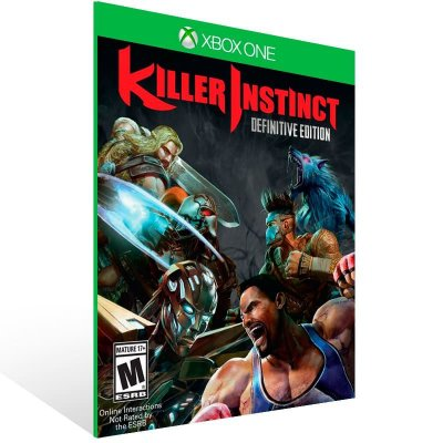 Killer Instinct: Definitive Edition - Xbox One Live Mídia Digital