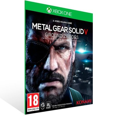 Metal Gear Solid 5: Ground Zeroes - Xbox One Live Mídia Digital