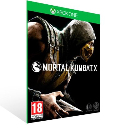Mortal Kombat X - Xbox One Live Mídia Digital