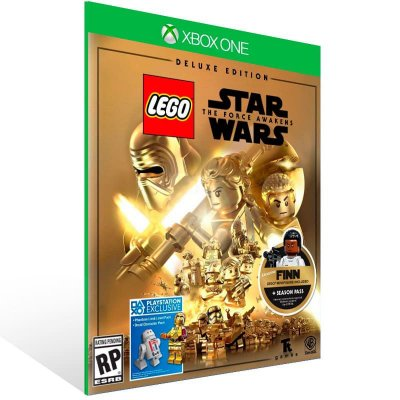 Lego Star Wars: The Force Awakens Edição Deluxe - Xbox One Live Mídia Digital