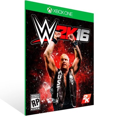 Wwe 2K16 - Xbox One Live Mídia Digital