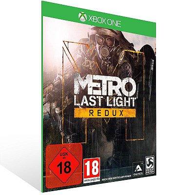 Metro: Last Light Redux - Xbox One Live Mídia Digital