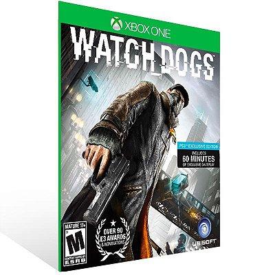 Watch Dogs - Xbox One Live Mídia Digital
