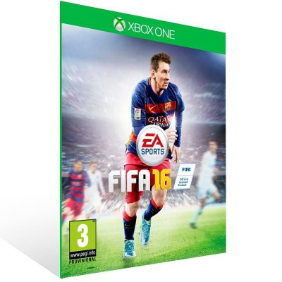 Fifa 16 - Xbox One Live Mídia Digital