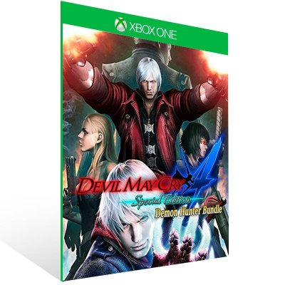 Devil May Cry 4 Demon Hunter Bundle - Xbox One Live Mídia Digital