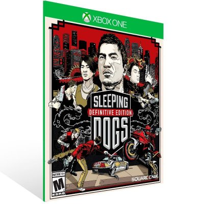 Sleeping Dogs Definitive Edition - Xbox One Live Mídia Digital
