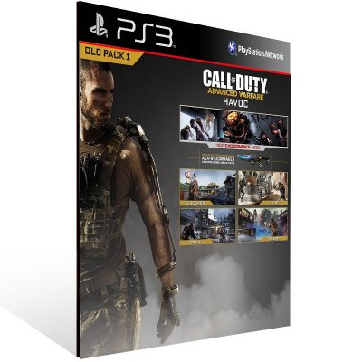 Call Of Duty: Advanced Warfare Havoc Dlc - Ps3 Psn Mídia Digital