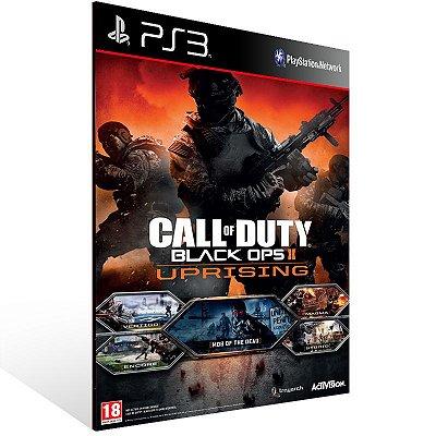 Call Of Duty Black Ops 2 Uprising - Ps3 Psn Mídia Digital