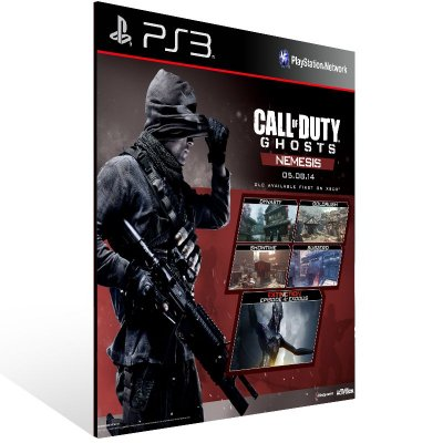 Call Of Duty Ghosts Nemesis - Ps3 Psn Mídia Digital