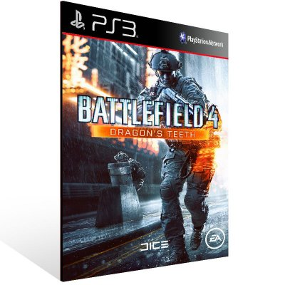 Battlefield 4 Dragons Teeth - Ps3 Psn Midia Digital