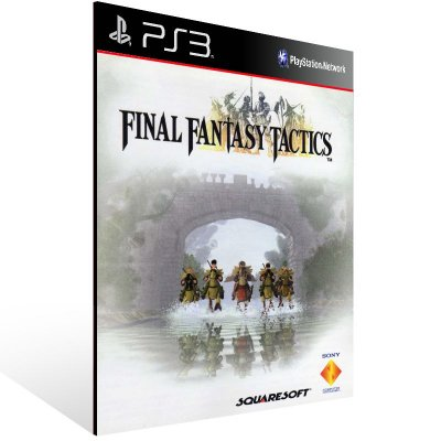 Final Fantasy Tactics (Psone Classic) - Ps3 Psn Mídia Digital