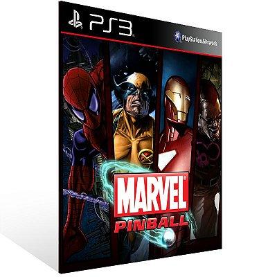 Marvel Pinball - Ps3 Psn Mídia Digital