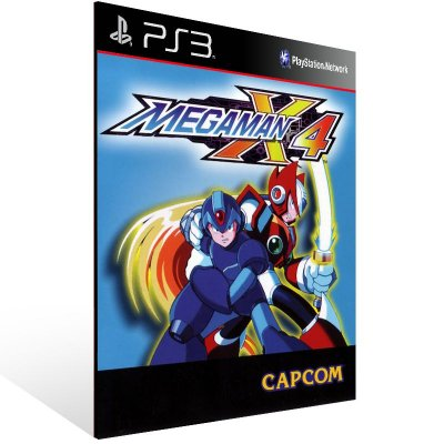 Mega Man X4 (Psone Classic) - Ps3 Psn Mídia Digital