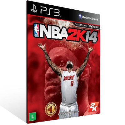 Nba 2K14 - Ps3 Psn Mídia Digital