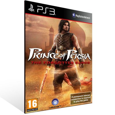 Prince Of Persia: The Forgotten Sands - Ps3 Psn Mídia Digital