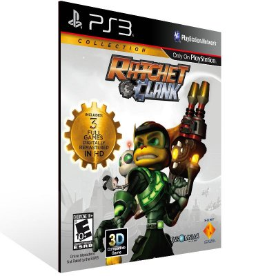 Ratchet & Clank: Collection - Ps3 Psn Mídia Digital