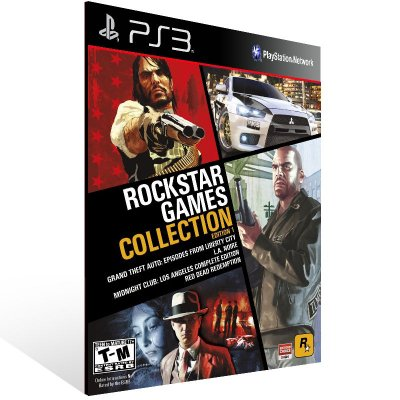 Rockstar Games Collection Edition 1 - Ps3 Psn Mídia Digital