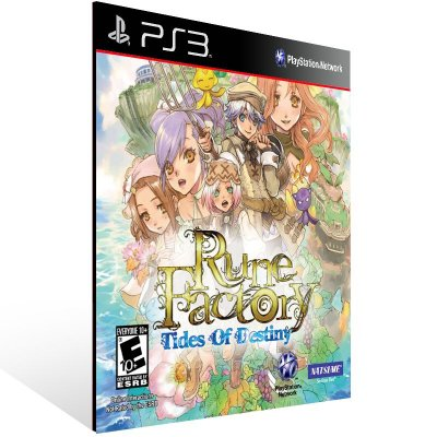 Rune Factory: Tides Of Destiny - Ps3 Psn Mídia Digital