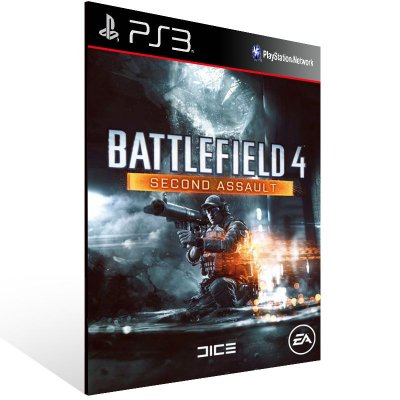 Battlefield 4 Second Assault - Ps3 Psn Mídia Digital