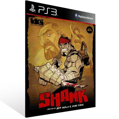 Shank - Ps3 Psn Mídia Digital
