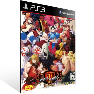 Street Fighter 3: 3Rd Strike: Online Edition Complete Pack - Ps3 Psn Mídia Digital