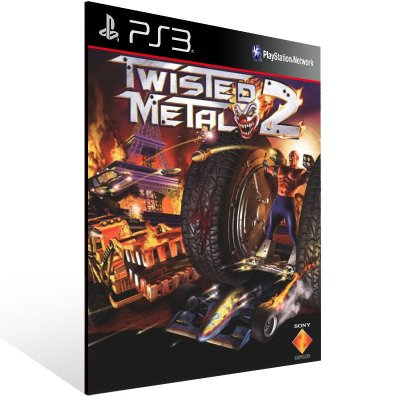 Twisted Metal 2 - Ps3 Psn Mídia Digital