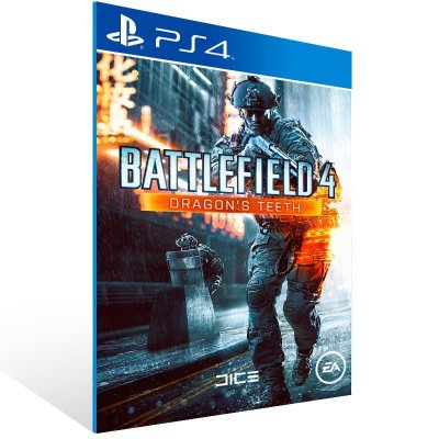 Battlefield 4 Dragons Teeth - Ps4 Psn Mídia Digital