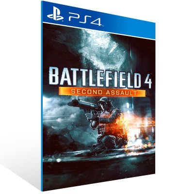 Battlefield 4 Second Assault - Ps4 Psn Mídia Digital