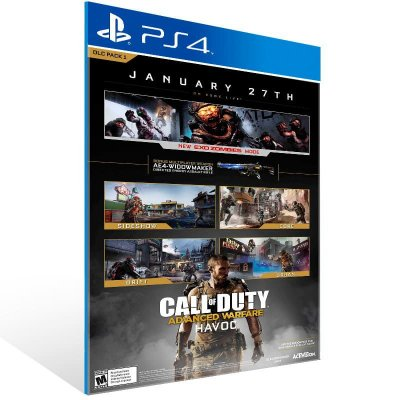 Call Of Duty: Advanced Warfare Havoc Dlc - Ps4 Psn Mídia Digital