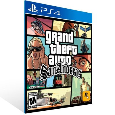 Grand Theft Auto: San Andreas Gta - Ps4 Psn Mídia Digital