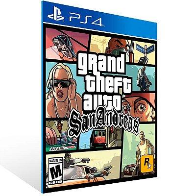 Grand Theft Auto: San Andreas - Ps4 Psn Mídia Digital