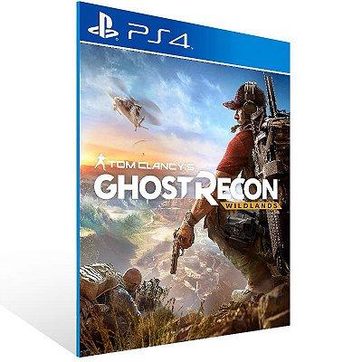 Tom Clancy's Ghost Recon Wildlands Standard Edition - Ps4 Psn Mídia Digital
