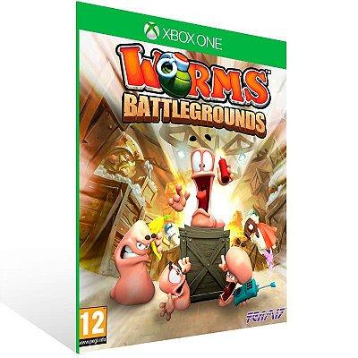 Worms Battlegrounds - Xbox One Live Mídia Digital