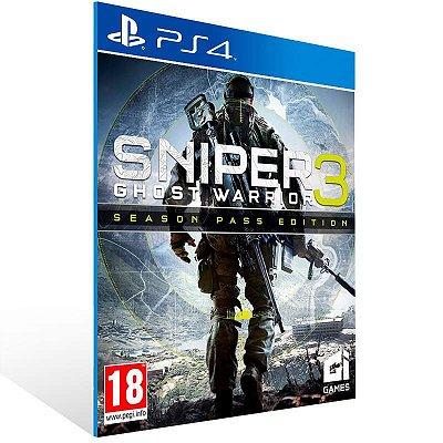 Sniper Ghost Warrior 3 Season Pass Edition - Ps4 Psn Mídia Digital