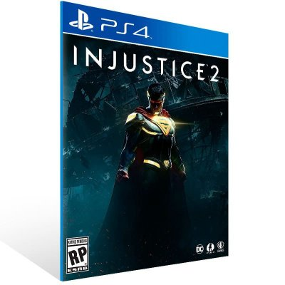 Injustice 2 - Ps4 Psn Mídia Digital