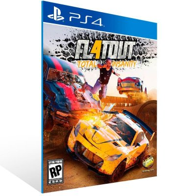 Flatout 4: Total Insanity - Ps4 Psn Mídia Digital