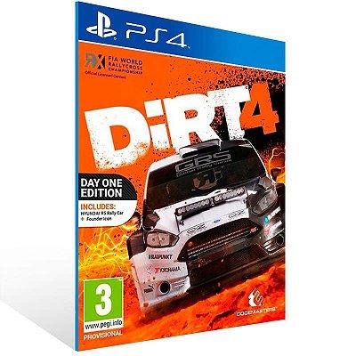 DiRT 4 - PS4 Psn Mídia Digital