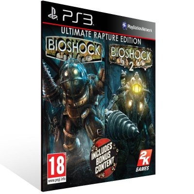 BioShock 1 e 2 - Ps3 Psn Midia Digital