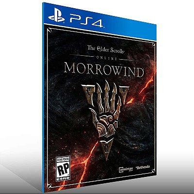 The Elder Scrolls Online Morrowind - Ps4 Psn Mídia Digital