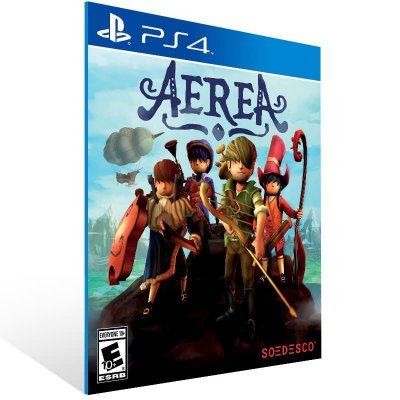 AereA - Ps4 Psn Mídia Digital