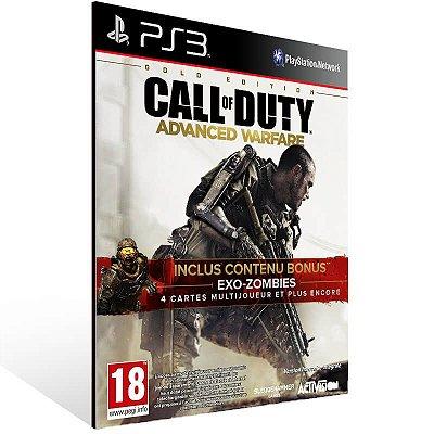 Call Of Duty Advanced Warfare Gold Edition - Ps3 Psn Mídia Digital