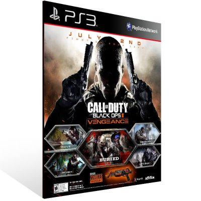 Call Of Duty Black Ops 2 Vengeance - Ps3 Psn Mídia Digital