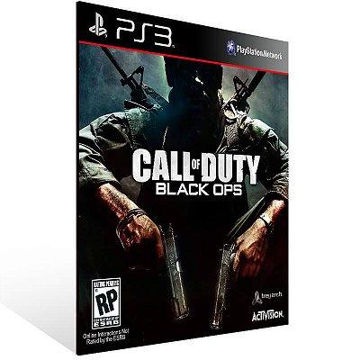 Call Of Duty Black Ops + First Strike - Ps3 Psn Mídia Digital