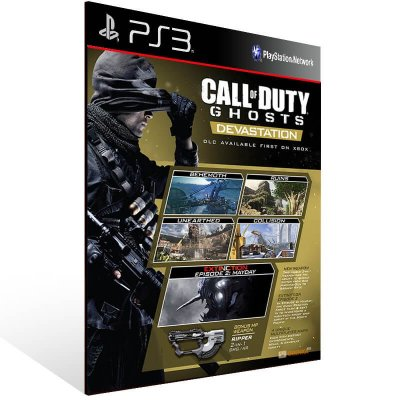 Call Of Duty: Ghosts Devastation - Ps3 Psn Mídia Digital