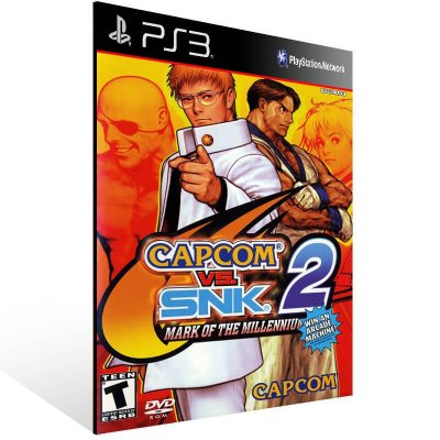 Capcom Vs. Snk 2: Mark Of The Millennium 2001 - Ps3 Psn Mídia Digital