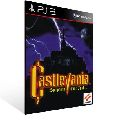 Castlevania Symphony Of The Night - Ps3 Psn Mídia Digital